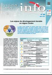 Les enjeux du développement durable en région Centre   INSEE CENTRE