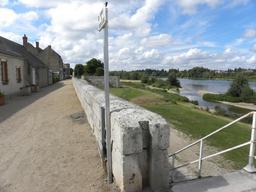 Vue sur la Loire à Jargeau (Loiret) | DIRECTION REGIONALE DE L'ENVIRONNEMENT, DE L'AMENAGEMENT ET DU LOGEMENT CENTRE-VAL DE LOIRE