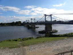 Pont sur la Loire à Châteauneuf-sur-Loire (Loiret) | DIRECTION REGIONALE DE L'ENVIRONNEMENT, DE L'AMENAGEMENT ET DU LOGEMENT CENTRE-VAL DE LOIRE