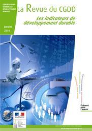 Les indicateurs de développement durable   DAVID Michel - Rédacteur en chef