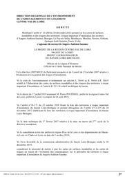 Directive inondations Bassin Loire-Bretagne : Cartes de surfaces inondables et des risques des territoires à risque important (TRI) des secteurs d'Angers-Authion-Saumur, Bourges, Le-Puy-en-Velay, Montluçon, Moulins, Nevers, Orléans, Quimper-Sud-Finistère, Tours, Vichy. | DREAL CENTRE-VAL DE LOIRE