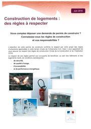 Construction de logements : des règles à respecter | DREAL CENTRE