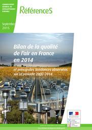 Bilan de la qualité de l'air en France en 2014 et principales tendances observées sur la période 2000-2014 | LE MOULLEC Aurélie