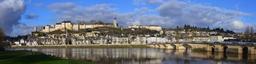 Vue panoramique de la ville de Chinon - Indre-et-Loire (37) | LELLU (Franck)
