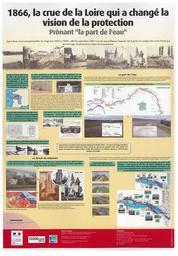 """1866, la crue de la Loire qui a changé la vision de la protection, prônant """"la part de l'eau""""   MAURIN (Jean) - DREAL Centre-Val de Loire"""