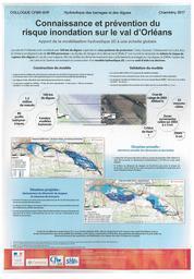 Connaissance et prévention du risque inondation sur le val d'Orléans : apport de la modélisation hydraulique 2D à une échelle globale | CUVILLIER (Loann) - CEREMA Normandie Centre