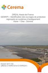 GEMAPI – Identification des ouvrages de protection regroupés en systèmes d'endiguement Aisne – Oise - Somme | CEREMA DT Nord-Picardie