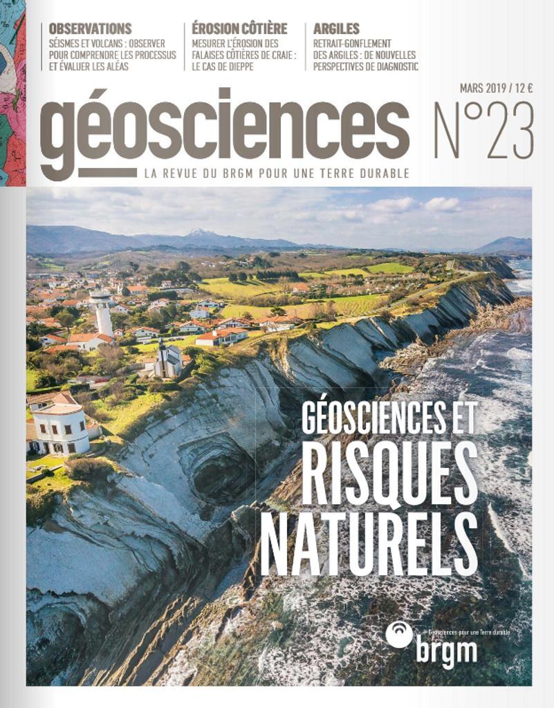 Géosciences - la revue du BRGM pour une Terre durable |