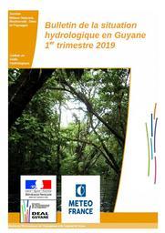 Bulletin de la situation hydrologique en Guyane - 1er trimestre 2019 | MASSON Arthur