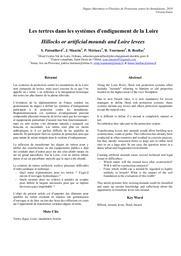 Les tertres dans les systèmes d'endiguement de la Loire | PATOUILLARD (Sébastien) - DREAL Centre-Val de Loire