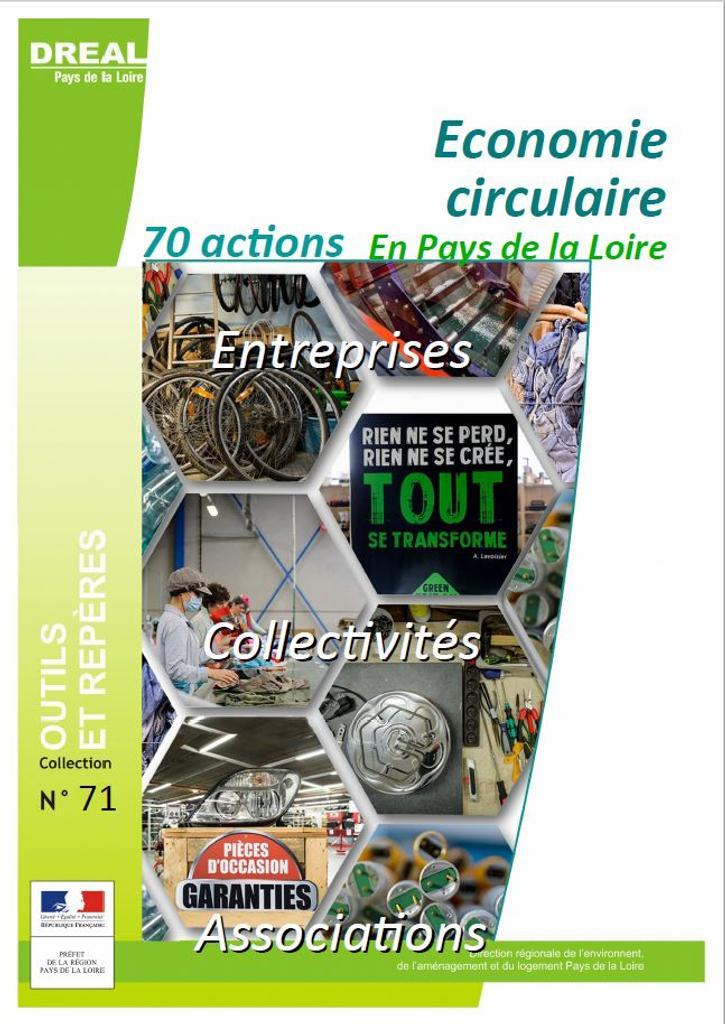 Économie circulaire, 70 actions en Pays de la Loire |