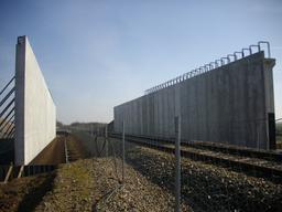 Construction d'un pont - PN97 à Autheuil | GUILLEMAUT (Fabien) - DREAL Centre-Val de Loire