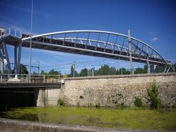 Passerelle en fer à Bourges (Cher) | GUILLEMAUT (Fabien) - DREAL Centre-Val de Loire