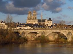 Loire et cathédrale d'Orléans | SAUMET (Rémi)