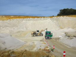 Carrière de sables de Fontainebleau - Hanches (Eure-et-Loir) | SAUMET (Rémi)