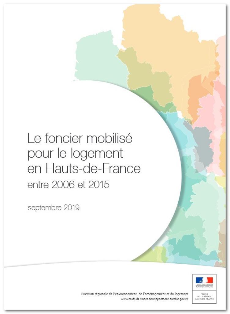 Le foncier mobilisé pour le logement en Hauts‑de‑France entre 2006 et 2015 |
