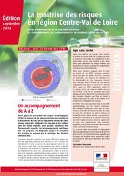 La maîtrise des risques en région Centre-Val de Loire - Edition 2018 | DIRECTION REGIONALE DE L'ENVIRONNEMENT, DE L'AMENAGEMENT ET DU LOGEMENT CENTRE-VAL DE LOIRE