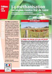 La méthanisation en région Centre-Val de Loire | DIRECTION REGIONALE DE L'ENVIRONNEMENT, DE L'AMENAGEMENT ET DU LOGEMENT CENTRE-VAL DE LOIRE