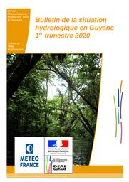 Bulletin de situation hydrologique du 1er trimestre 2020  | HABERT Johan