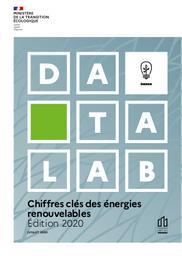 Chiffres clés des énergies renouvelables. Edition 2020.   PHAN Cecile