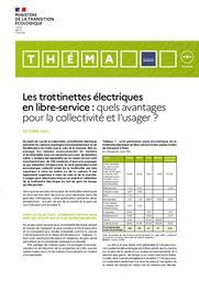 Les trottinettes électriques en libre-service : quels avantages pour la collectivité et l'usager ? | TASZKA Stéphane