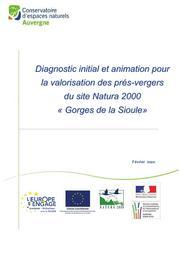 Diagnostic initial et animation pour la valorisation des prés-vergers du site Natura 2000 « Gorges de la Sioule » - FR8301034 | Conservatoire des espaces naturels d'Auvergne
