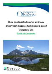 Étude pour la réalisation d'un schéma de préservation des zones humides sur le massif du Taillefer (38) - FR8201735 | MEINARD Yves - chef de projet de l'étude