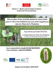 Mise en place d'une stratégie globale de conservation pour le Cuivré de la Bistorte dans les Monts de la Madeleine - FR8201757_FR8301019 | SEYCHAL Fanélie