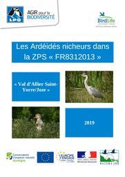 Les Ardéidés nicheurs dans la ZPS Val d'Allier Saint-Yorre/Joze 2019 - FR8312013 | RIOLS Romain