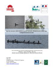 Suivi des dortoirs (2019-2020) du grand Cormoran (Phalacrocorax carbo) dans le département de la Loire | TAILLAND (Ludovic)