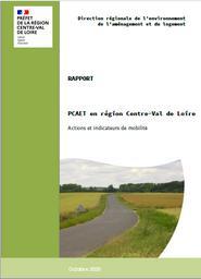PCAET en région Centre-Val de Loire : actions et indicateurs de mobilité | DIRECTION REGIONALE DE L'ENVIRONNEMENT, DE L'AMENAGEMENT ET DU LOGEMENT CENTRE-VAL DE LOIRE