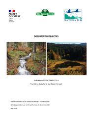 Document d'objectif Site Natura 2000 FR8201732 Tourbières du Luitel et leur Bassin Versant | FOURNIER (Jean-Emmanuel)