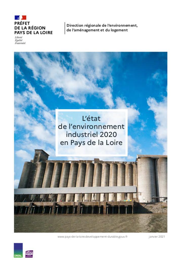 Etat de l'environnement industriel 2020 en Pays de la Loire |