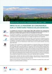 Observatoire Statistique transfrontalier - Fiche2-2020 - Impacts de la pandémie de coronavirus sur le territoire franco-valdo-genevois | Office cantonal de la statistique