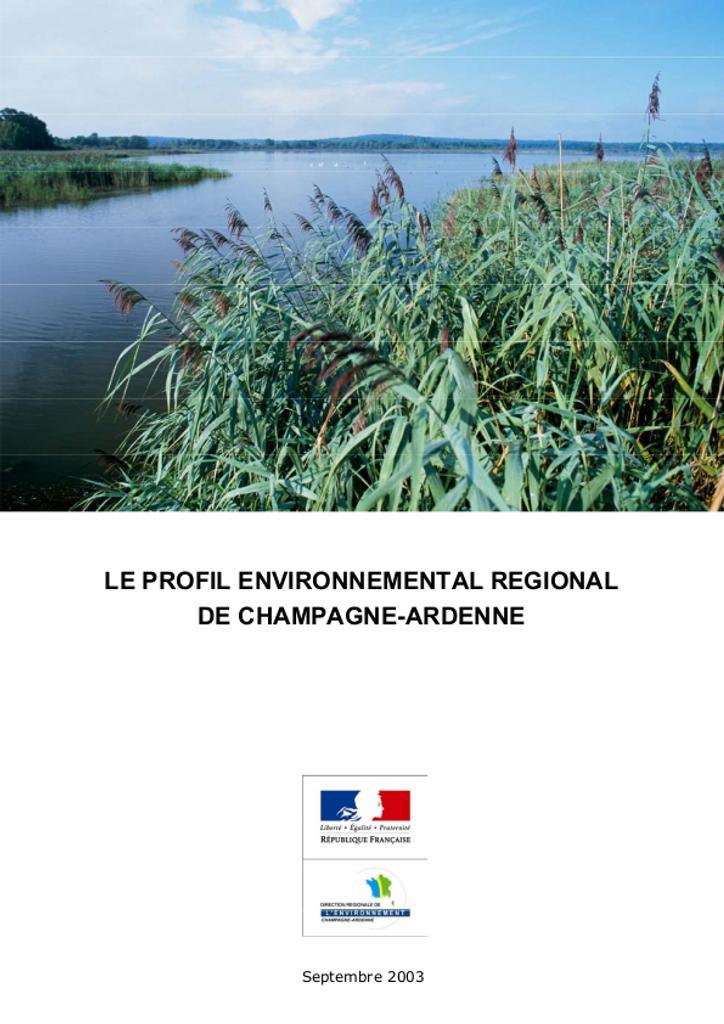 Profil environnemental en Champagne Ardenne |