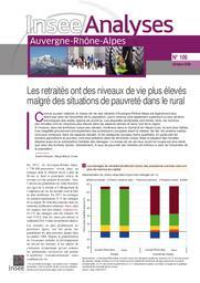 Insee Analyses Auvergne-Rhône-Alpes - Les retraités ont des niveaux de vie plus élevés malgré des situations de pauvreté dans le rural n° 106 | BOUVET Sandra