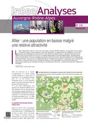 Insee Analyses Auvergne-Rhône-Alpes - Allier : une population en baisse malgré une relative attractivité N°110 | AUDE Johanne
