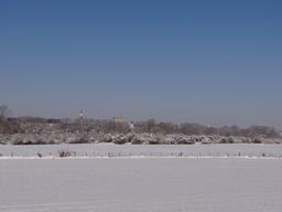 Paysage hivernal à Beaugency (Loiret) | SIMONNEAU (Aurore)
