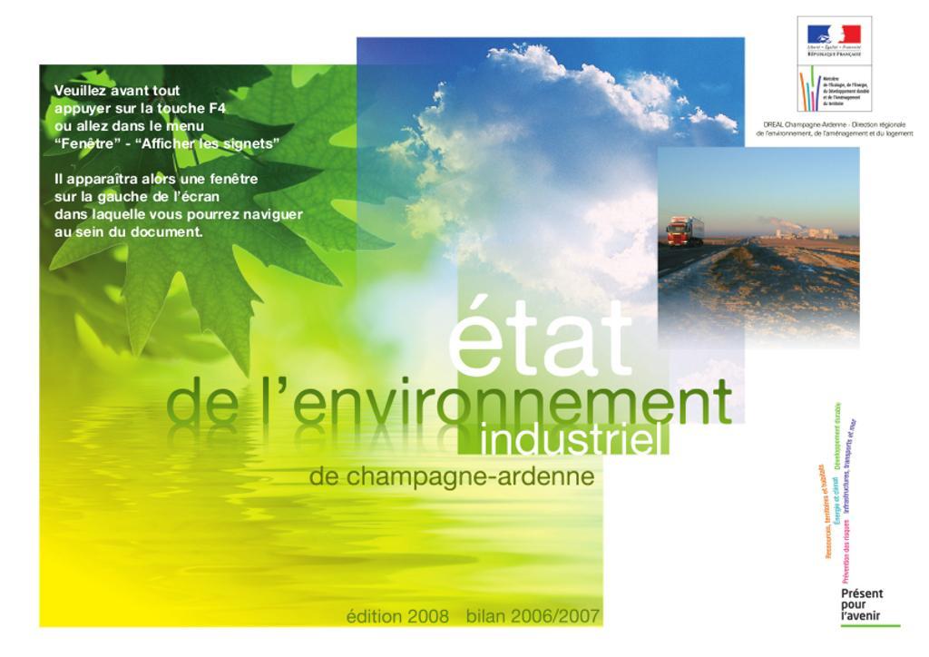 L'état de l'environnement industriel en Champagne Ardenne |