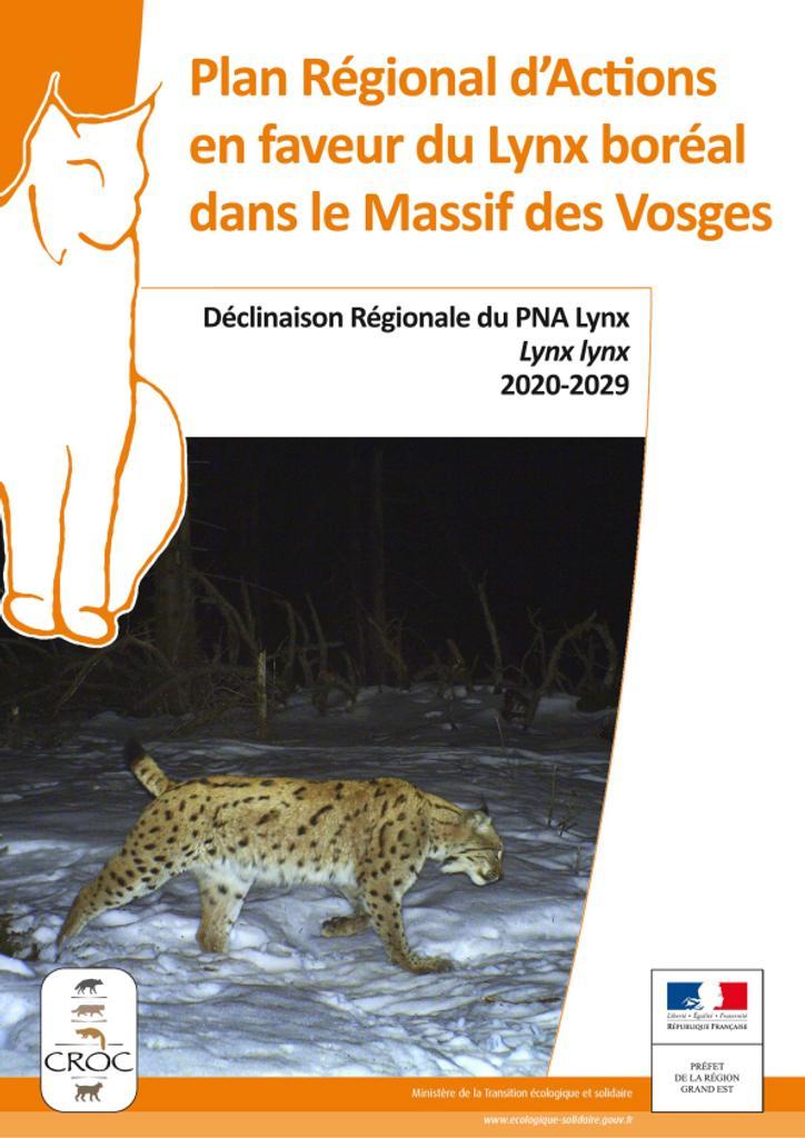 Plan régional d'actions en faveur du lynx boréal dans le massif des Vosges |