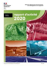 Rapport d'activité 2020 DREAL GRAND EST | DIRECTION REGIONALE DE L'ENVIRONNEMENT, DE L'AMENAGEMENT ET DU LOGEMENT GRAND-EST. Auteur