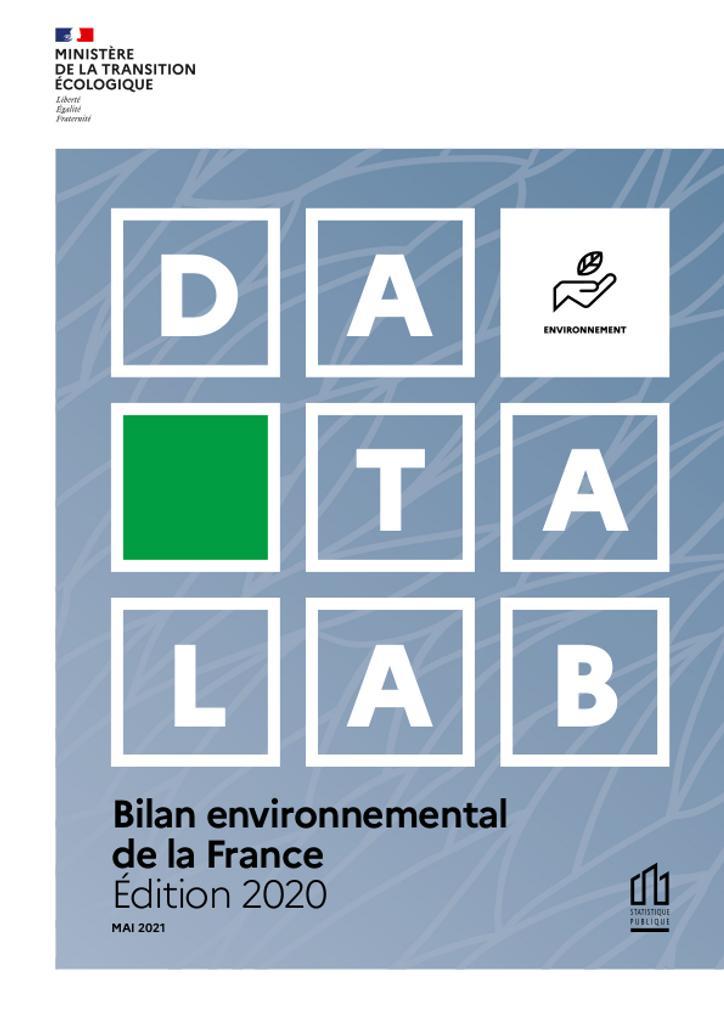 Bilan environnemental de la France - Édition 2020. |