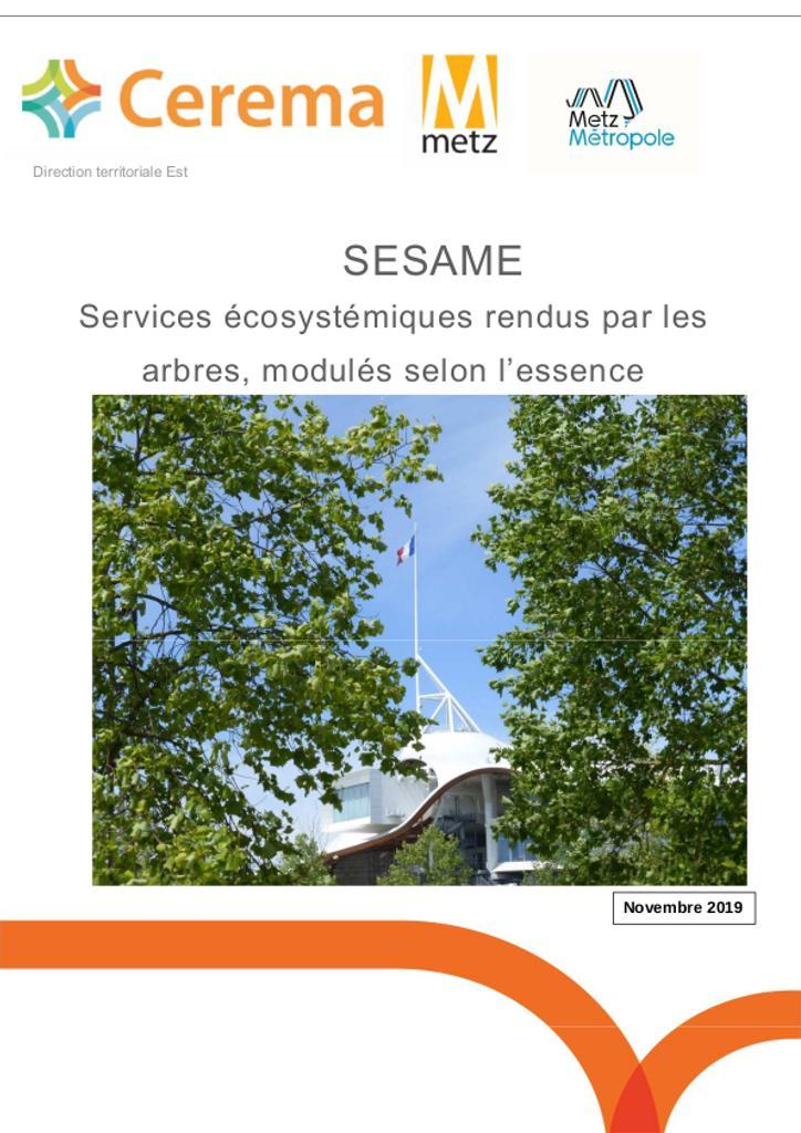 SESAME Services écosystémiques rendus par les arbres : modulés selon l'essence |