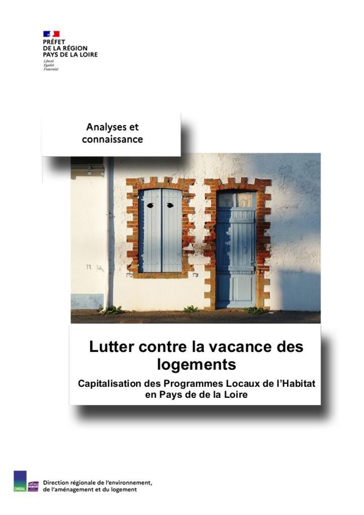 Lutter contre la vacance des logements en Pays de la Loire   TOULLIC Emma