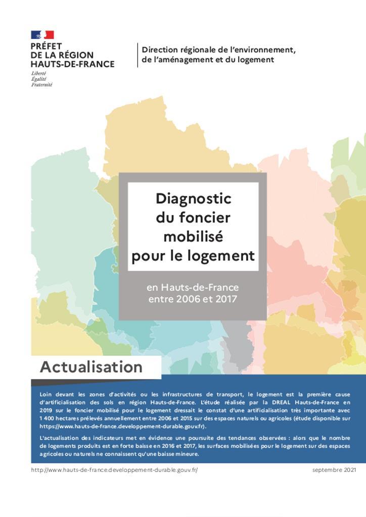 Actualisation 2021 du diagnostic sur le foncier mobilisé pour le logement |