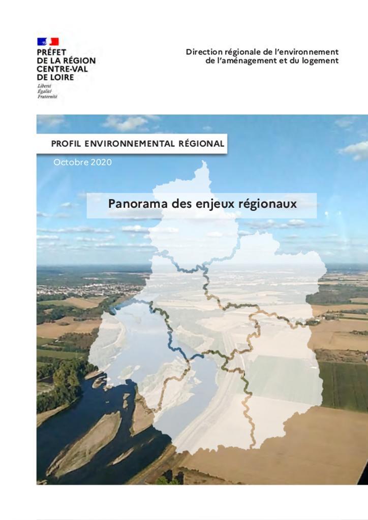 Panorama des enjeux régionaux   DIRECTION REGIONALE DE L'ENVIRONNEMENT, DE L'AMENAGEMENT ET DU LOGEMENT CENTRE-VAL DE LOIRE